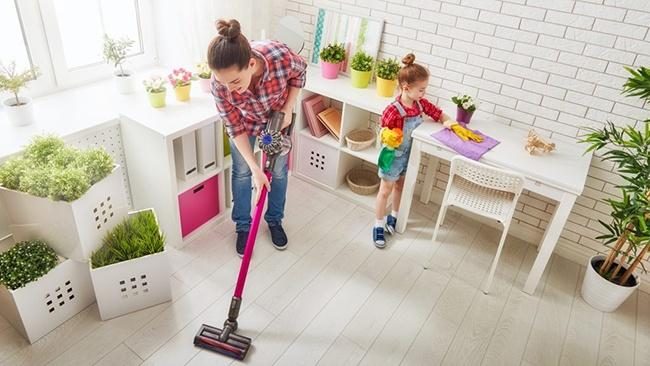 Bí quyết dọn nhà nhanh gọn