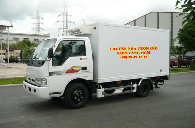 Xe tải dịch vụ chuyển nhà quận Tân Bình TPHCM - Công ty Thành Phương