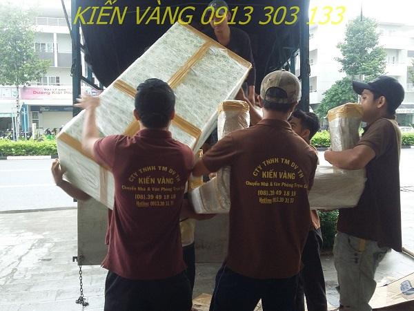 Quy trình dịch vụ chuyển nhà trọn gói quận 7 khoa học của Kiến Vàng