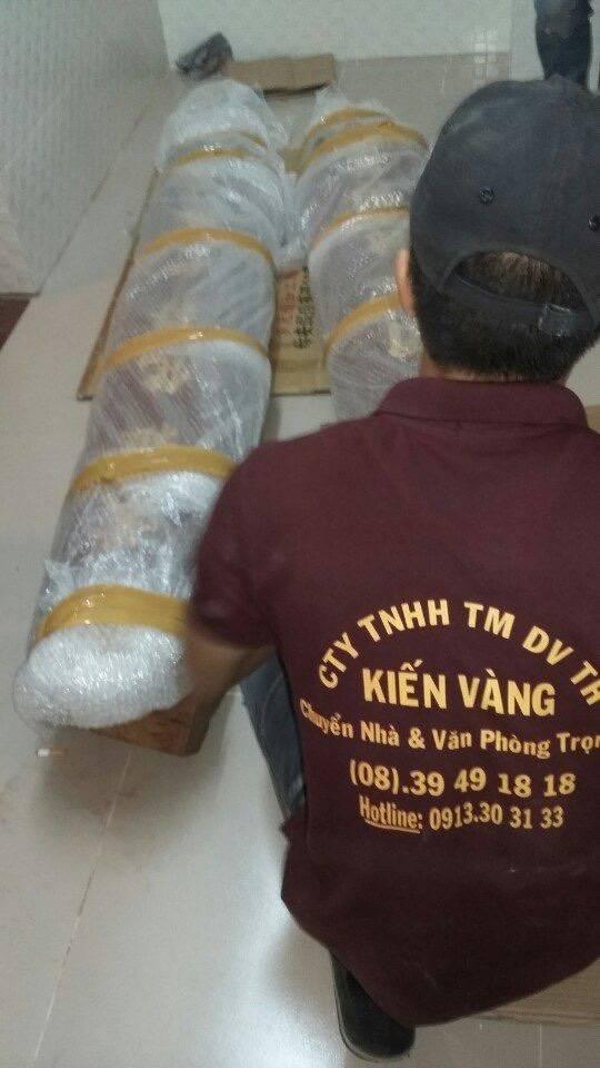 Việc chuyển nhà cần đảm bảo sự an toàn về đồ đạc