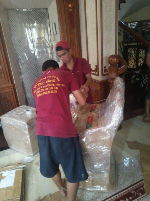 Dịch vụ chuyển nhà trọn gói Bình Dương uy tín của Kiến Vàng