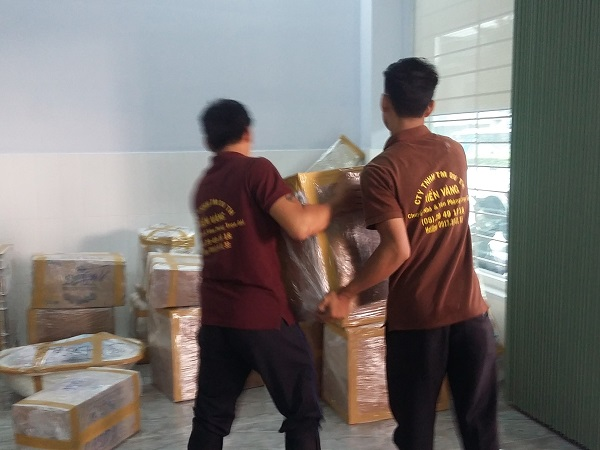 dịch vụ chuyển nhà trọn gói Biên Hòa uy tín, chất lượng