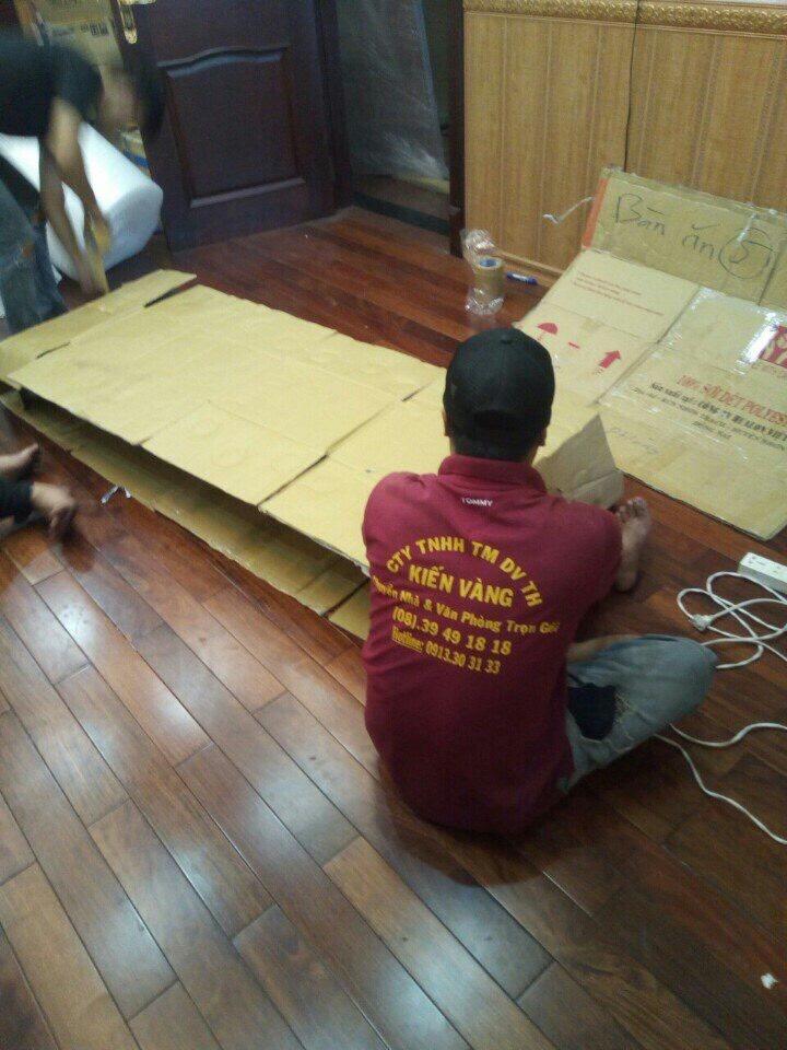 Dịch vụ vận chuyển nhà trọn gói tại Kiến Vàng được thực hiện theo quy trình khoa học, chuyên nghiệp