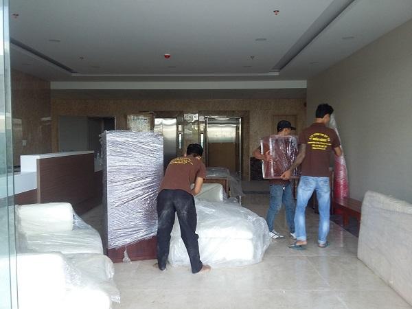 dịch vụ chuyển nhà trọn gói Sài Gòn đi Đà Nẵng chuyên nghiệp