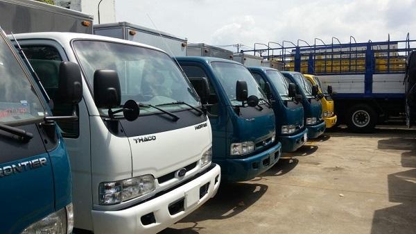 đa dạng chủng loại taxi tải chở hàng