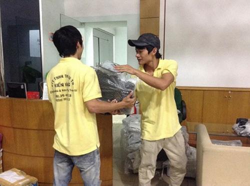 Dịch vụ chuyển văn phòng trọn gói công ty Kiến Vàng