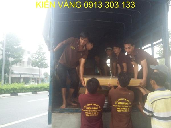 Kiến Vàng là đơn vị uy tín trong việc vận chuyển kho trọn gói