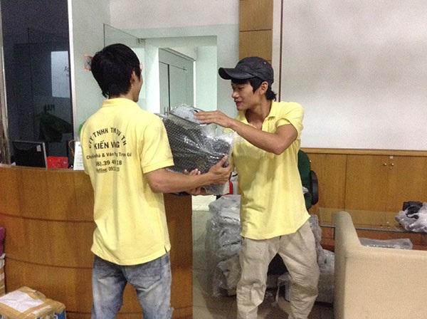Bạn có thể lựa chọn dịch vụ chuyển nhà trọn gói của công ty Kiến Vàng nếu không có thời gian và kinh nghiệm sắp xếp các loại đồ đạc khi chuyển nhà