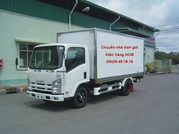 Chọn loại xe tải có kích thước phù hợp với lượng đồ đạc cần chuyển