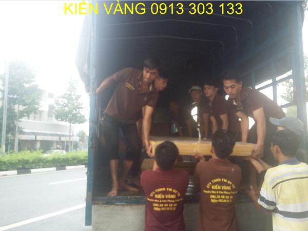 Dịch vụ chuyển nhà giá rẻ của công ty Kiến Vàng