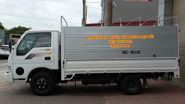 Nên lựa chọn xe có trọng tải phù hợp với lượng hàng hóa bạn cần vận chuyển để tiết kiệm được chi phí