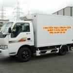 Dịch vụ cho thuê xe tải của Kiến Vàng với chất lượng xe đảm bảo đủ tiêu chuẩn