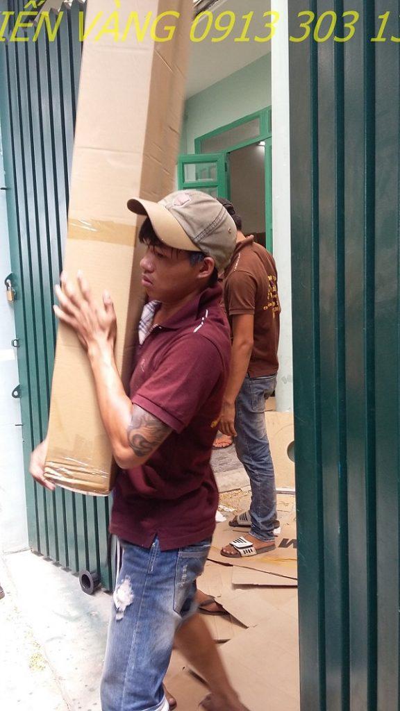 Dịch vụ chuyển nhà trọn gói giá rẻ Kiến Vàng