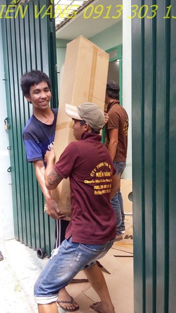 Dịch vụ chuyển nhà trọn gói Kiến Vàng TPHCM