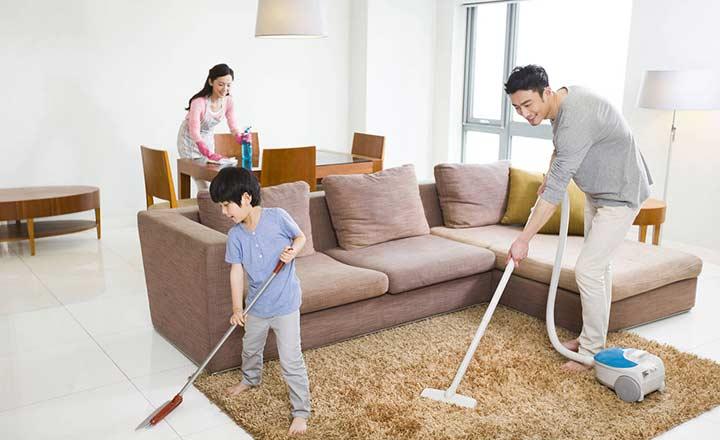 Dành 20 phút dọn nhà mỗi ngày
