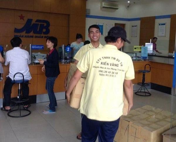 dịch vụ chuyển văn phòng trọn gói chất lượng của Kiến Vàng