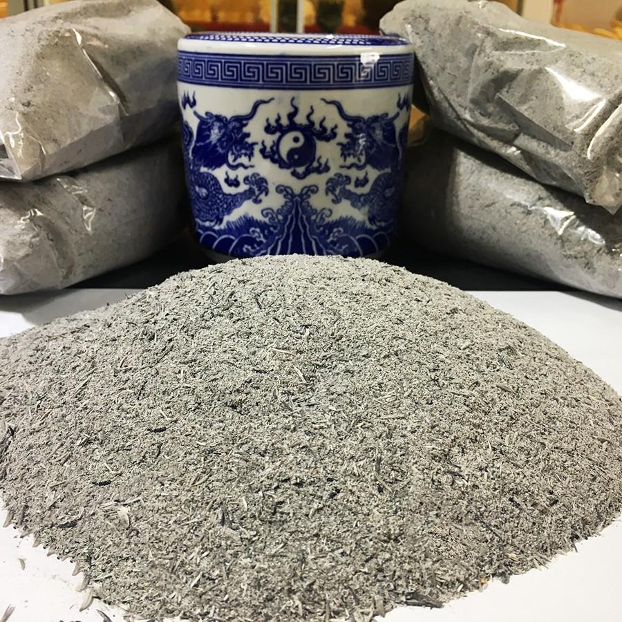 Tro nếp là loại tro phổ biến dùng để đặt vào bên trong bát hương hiện nay
