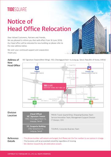 Mẫu thông báo chuyển địa điểm kinh doanh được trình bày dưới nhiều hình thức khác nhau
