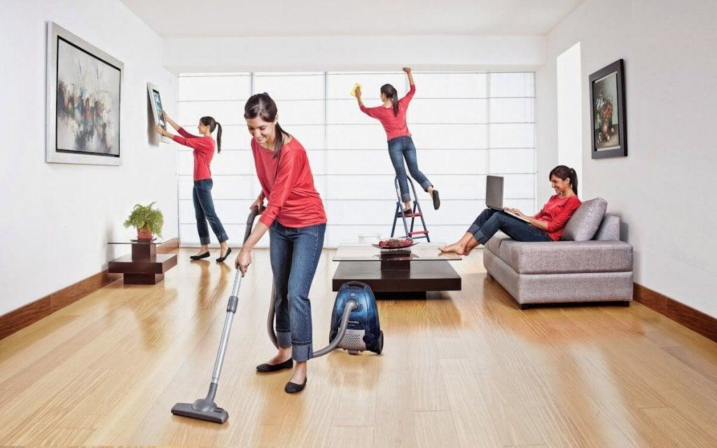 Nằm mơ thấy dọn dẹp nhà được xem là điều may mắn