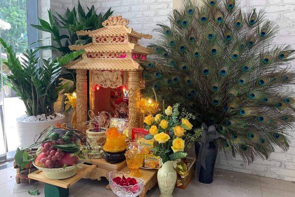 Gia chủ cần tìm hiểu kỹ thủ tục chuyển bàn thờ thần tài, thổ địa về nhà mới chính xác