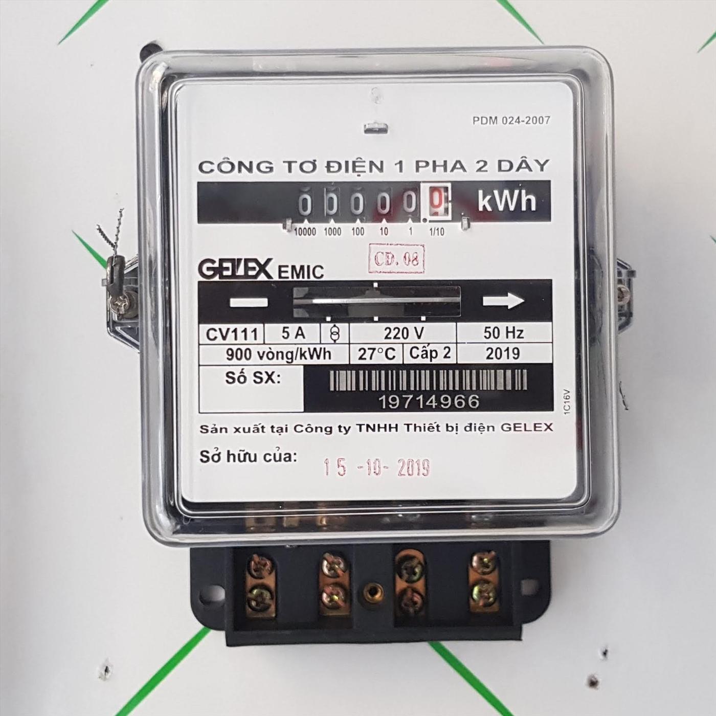 Kiểm tra kỹ đồng hồ điện trước khi thuê nhà để tránh rắc rối về sau