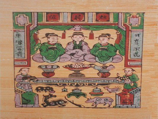 Ông Táo là vị thần gần gũi với các gia đình, chuyên cai quản bếp núc cùng với việc làm của mỗi thành viên