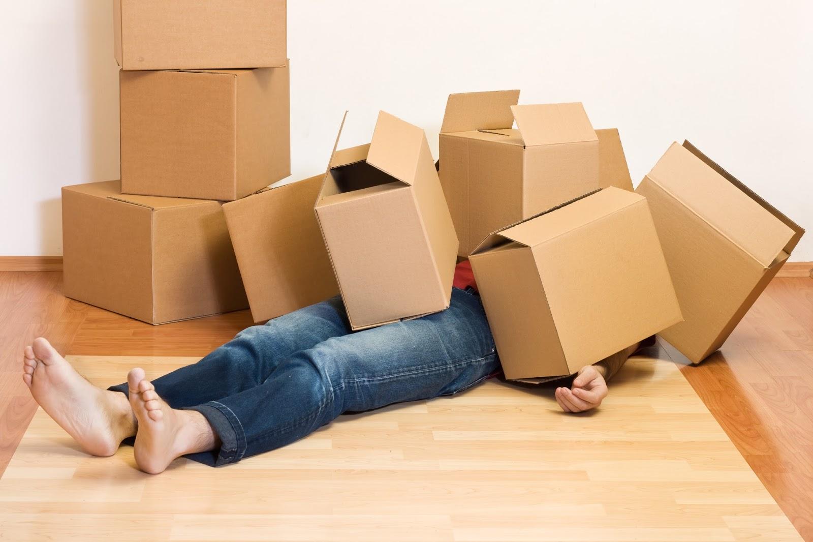 Dọn nhà là một trong những nỗi lo lắng của các gia đình khi xây nhà mới